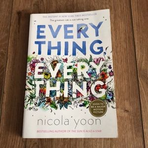 Everything everything book by Nicola Yoon.